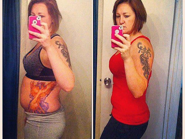 weight loss progress photo